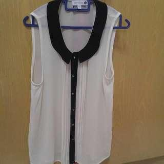 Cotton ON - White Top Size S Worn Once Only