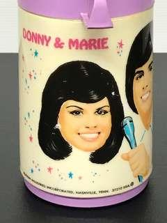 Vintage DONNY & MARIE Hot/Cold Thermos Bottle