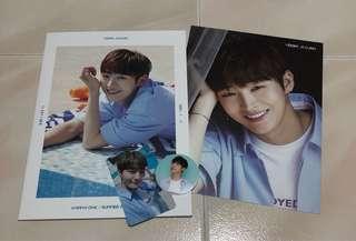 (INSTOCK) Ji Sung Wanna One Summer Package