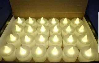 🚚 INSTOCK LED WARM YELLOW CANDLE LIGHT