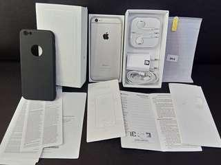 Iphone 6 16gb second ex garansi resmi IBOX