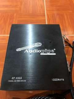 Car Amp Audiopipe AP-4502 1000W (USA)