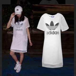 🚚 Adidas 雪紡 紗 長洋 CE7295