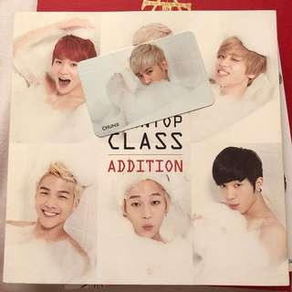 Teen Top Class Addition Album + PC
