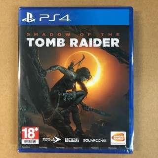 PS4 SHADOW OF THE TOMB RAIDER (CHI) - AS     PS4 古墓奇兵:暗影 (亞洲 繁/簡中文版)