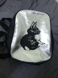 🚚 小兔子個性後背包(可調長短)