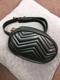 QUILTED BUM BAG/ WAIST BAG