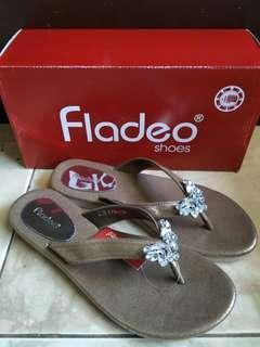 NEW sandal fladeo glitter bagus banget CUCIGUDANG