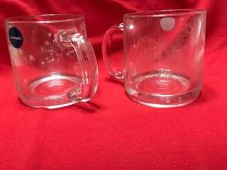 A Pair of glassware