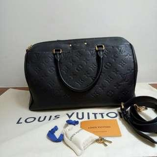 Pre owned louis Vuitton Bandoliere 30 in Empreinte