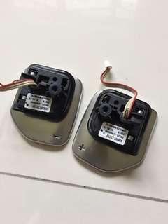 Original Audi A3/S3 Chrome paddle shifters