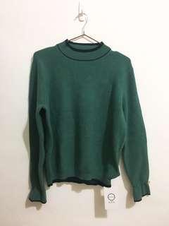 🚚 全新🌟墨綠色針織上衣