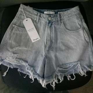 Wrangler Hi Bells Size 8 Brand New Shorts Denim