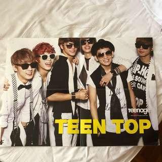 Teenage Teen Top or 4 Minute Poster