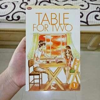 Buy 5 Get 1 Table for Two (Rumi Ichinohe) | Manga/Komik/Comic/Anime Murah