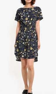 Floral Elasticated Waist Summer Dress