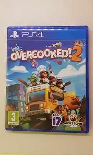 PS4 Overcooked 2 [Used]