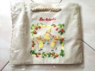 🚚 法國三寶貝休閒購物袋