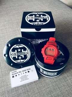 Casio G-Shock 35th Anniversary Limited Edition DW6900 Red Out Series Watch