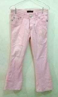 FREEONG Pink Trousers L'waver