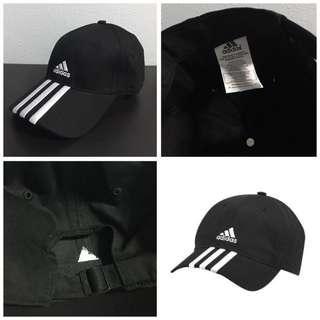 [INSTOCK] ADIDAS ESS 3S BASEBALL CAP (BLACK)