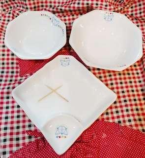Charming 瓷鹿皿 微波爐碗碟套裝餐具