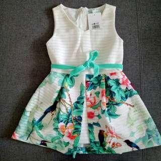 Gingersnap Floral Dress Size 2