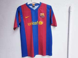 Barcelona 07/08 Jersey XS