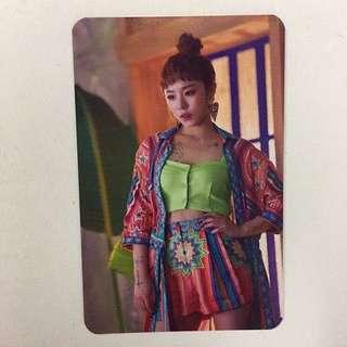 [WTB] MAMAMOO RED MOON ALBUM PHOTOCARD