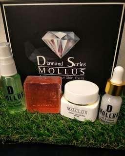 (INSTOCKS AVAIL) Authentic Mollus Diamond Series Facial Beauty Skincare Set (Shine Bright Like A Diamond)