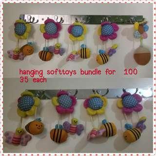 Hanging  softtoy or  tali  sa  curtain