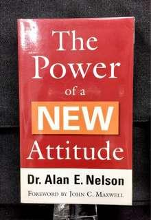 #3×100《Preloved Paperback + How You Can Make Positive Changes In Behaviors & Attitude To Improve Your Life 》Dr Alan E. Nelson - THE POWER OF A NEW ATTITUDE