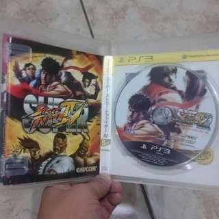 Super Streetfighter PS3 Games