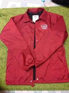 vans coach jacket