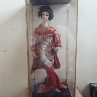 Vintage Geisha Doll