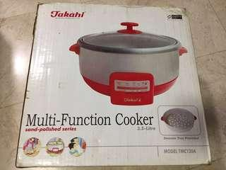 Multi function cooker / steamboat pot