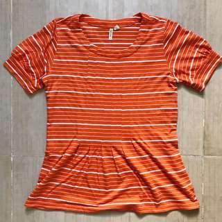 Maternity Orange Top