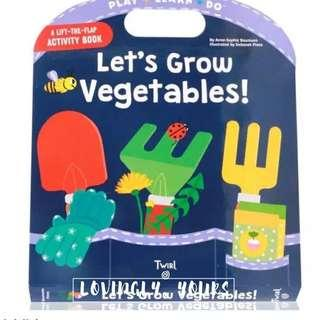 <Play-Learn-Do Series> Let's Grow Vegetables