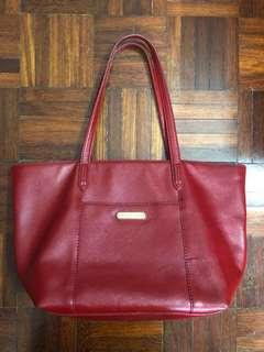 Authentic Victoria's Secret Genuine Leather Shoulder Bag