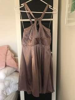 Champagne evening dress size 12