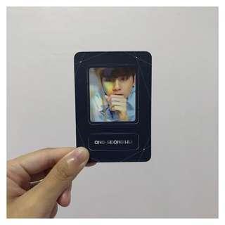 wanna one | seongwoo undivided the heal magnet