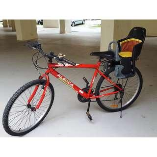 Bicycle with Baby Seat for Sale!!!