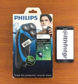 Phillips Aqua Touch Electric Shaver AT 750 (Wet & Dry)