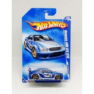 HOT WHEELS 2009 DREAM GARAGE MERCEDES AMG CLK-DTM