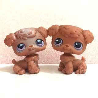 Littlest pet shop lps poodle pair