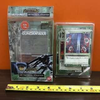 Gundam War DX Tactical Starter Card Game [L11]