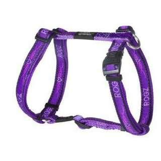 Rogz Purple Harness For Cats/Dogs