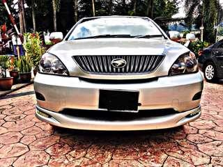 SAMBUNG BAYAR/CONTINUE LOAN  TOYOTA HARRIER 2.4 AUTO YEAR 2008 MONTHLY RM 1555 BALANCE 4 YEARS + ROADTAX VALID PANAROMIC ROOF TIPTOP CONDITION  DP KLIK wasap.my/60133524312/harrier
