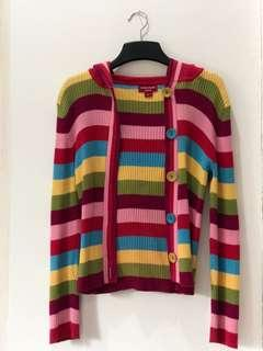 [GUESS] Rainbow Hooded Sweater