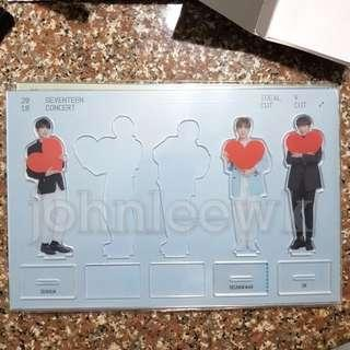 [INSTOCKS] SEVENTEEN Ideal Cut Arylic Stand: Vocal Team